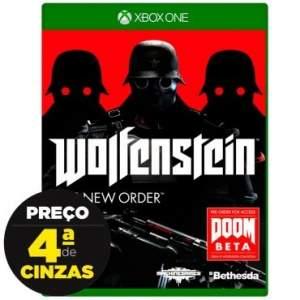 [Insinuante] Jogo Wolfenstein: New Order para Xbox One (XONE)  por R$ 66