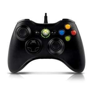 [Kabum] Controle Microsoft Xbox 360/PC S9F-00001 Preto por R$ 150