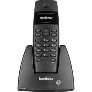 [SouBarato]Telefone sem Fio TS40 Preto DECT 6.0 Digital Intelbrás R$44,33
