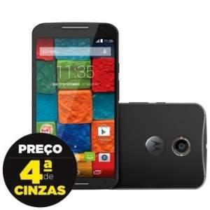 [Ricardo Eletro] Smartphone Motorola Moto X Preto XT1097 2°Geração por R$ 1199