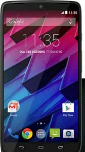 """[Americanas] Smartphone Motorola Moto Maxx Desbloqueado Android 4.4 Tela 5.2"""" Memória 64GB Wi-Fi Câmera 21MP Pretopor R$ 1619"""