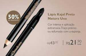 [Natura] Lápis Kajal para os Olhos Una - R$22