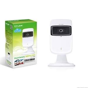 [eFacil] Câmera de Monitoramento NC200 300Mbps, WiFi, Repetidor de Sinal, Zoom 4X - TP-Link - R$208
