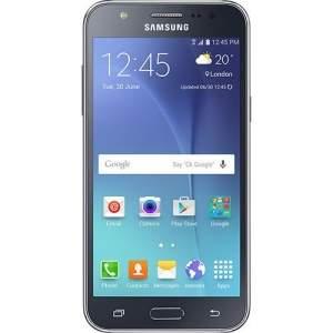 """[Sou Barato] Smartphone Samsung Galaxy J5 Duos Dual Chip Desbloqueado Android 5.1 Tela 5"""" 16GB 4G Wi-Fi Câmera 13MP - Preto"""