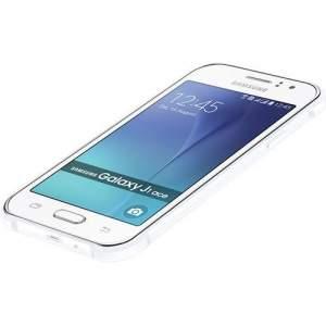 Smartphone Samsung Galaxy J1 Ace Dual chip Memória interna de 8GB Câmera 5MP 4G Android 5.1 - Branco