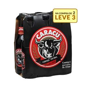 [Empório da Cerveja] Kit Caracu - Compre 2 caixas, leve 3 - R$34,68