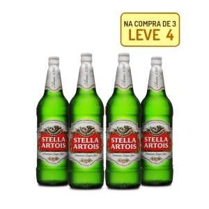 [Empório da Cerveja] Kit Stella Artois 990ML - Compre 3, Leve 4 - R$37,5