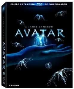 [Saraiva] Filme Avatar - Edição Estendida de Colecionador - 3 Discos - Blu-Ray - R$40