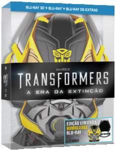 [Saraiva] Filme Transformers - A Era da Extinção - Edição Limitada - Blu-Ray 3D + Blu-Ray - R$40