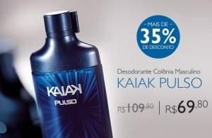 [Natura] Desodorante Colônia Kaiak Pulso Masculino - 100ml - R$70