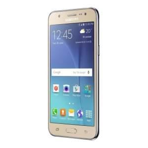 """[Extra] Smartphone Samsung Galaxy J5 Duos Dourado com Dual chip, Tela 5.0"""", 4G, Câmera 13MP, Android 5.1 e Processador Quad Core de 1.2 Ghz por R$ 883"""
