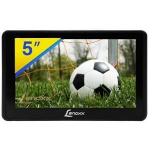 """[Insinuante] TV LCD 5"""" Portáti Lenoxx com Rádio FM, Games, Calculadora, Entradas para Mini USB e Micro SD - Preta - TV-512 por R$ 76"""