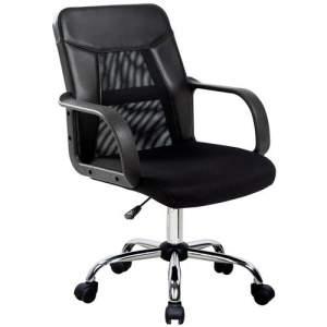[Casas Bahia] Cadeira Home Office Work Plus com Encosto em Nylon e Regulagem de Altura a Gás - Importado por R$ 180