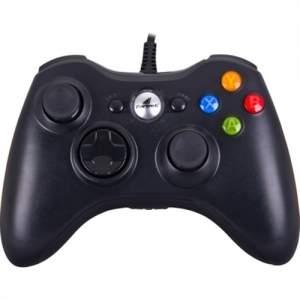 [Submarino] Controle Com Fio Para Xbox 360 E Pc Preto Xgc101 Fortrek por R$ 80