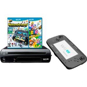 [Subamarino] Console Nintendo Wii U 32GB + 2 jogos - R$1296