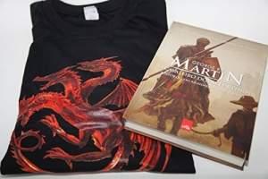 [AMAZON] Livro + Camiseta O Cavaleiro dos Sete Reinos George RR Martin por R$  20