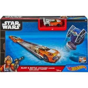 [Shoptime] Hot Wheels Star Wars Car Launcher Asment Luke Skywalker - Mattel por R$ 36