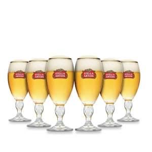 [Empório da Cerveja] Cálice Stella Artois 250ml Caixa com 6 unidades - R$79