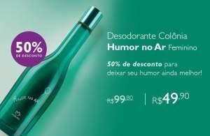 [Natura] Desodorante Colonia Humor no Ar Feminino - 75ml - R$50