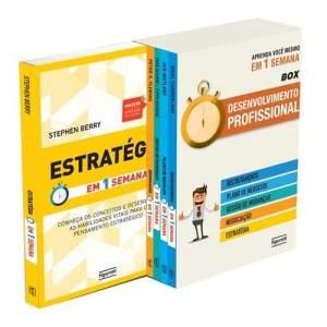 [Ponto Frio] Livro - Box Desenvolvimento Profissional por R$ 24,90