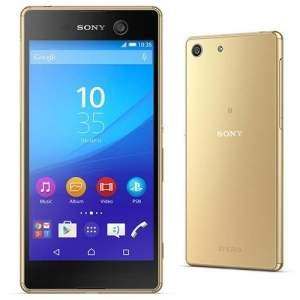 [Extra] Smartphone Sony Xperia M5 Dual Dourado Dual Chip Câmera 21,5MP 4G por R$1614