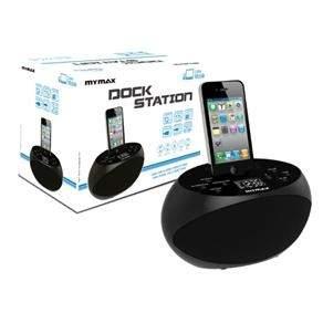 [Extra] Dock Station com Caixa de Som Integrada Mymax - MDS-SX588 - R$33