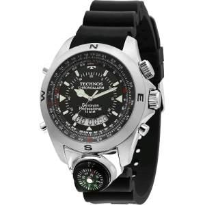 [Americanas]Relógio Masculino Technos Anadigi Casual T20571/8P por R$ 249