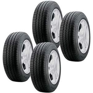 [Americanas] Kit com 4 Pneus Pirelli Aro 13 165/70R13 P400 por R$ 536