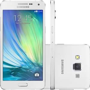 """[Americanas] Smartphone Samsung Galaxy A5 Duos Dual Chip Desbloqueado Android 4.4 Tela 5"""" 16GB 4G Câmera 13MP - Branco por R$ 890"""