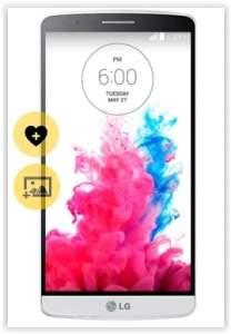 """[Saraiva] Smartphone LG G3 Branco Tela 5.5"""" Android 4.4 Câmera 13Mp Quad Core 2.45Ghz 16Gbpor R$ 1274"""