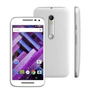 [Extra] Smartphone Moto G (3ª Geração) Turbo XT1556 Branco com 16GB por R$952