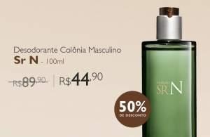 [Natura]  Desodorante Colônia Sr N - 100ml  R$ 45