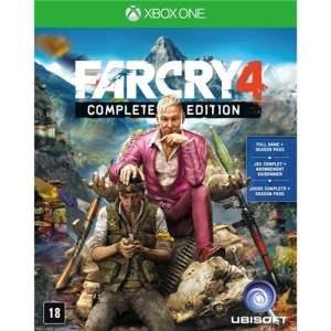 [Ponto Frio] Jogo Far Cry 4: Complete Edition - Xbox One por R$ 90