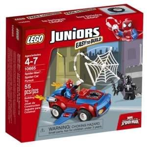 [Casas Bahia] LEGO Juniors Ataque do Carro Aranha 55 Peças com Boneco Homem Aranha - R$ 59,90