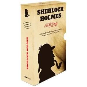 [Casas Bahia] Livro - Box Caixa Especial Sherlock Holmes - 4 Volumes Pocket por R$ 43