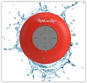 [Submarino]  Caixa Rock in Rio Acqua Bluetooth Resistente à Água Vermelho Aquarius por R$ 27