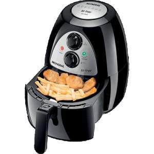 [Shoptime] Fritadeira Elétrica Mondial AF-03 Air Fryer 2,7Lts Preto - R$256
