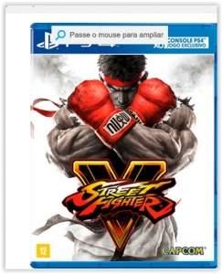 [Submarino]  Game Street Fighter V BR - PS4 por R$ 146