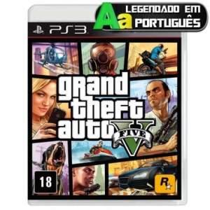 [Ricardo Eletro] Jogo Grand Theft Auto V (GTA 5) para Playstation 3 (PS3) por R$ 97,90.
