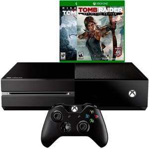 [Americanas] Console Xbox One 1TB + 2 Jogos Tomb Raider + 1 Controle sem Fio - por R$ 1500