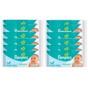 [Kangoolu] 768 Lencinhos Umedecidos Pampers - por R$90