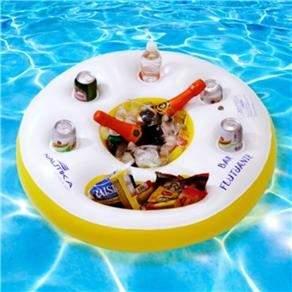 [WALMART] Bar Flutuante Branco Amarelo por R$39