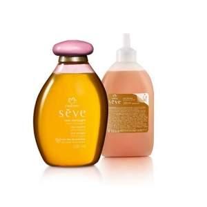 [Natura]  Kit Natura Sève - Óleo Desodorante Corporal Rosas Champagne + Refil R$ 70