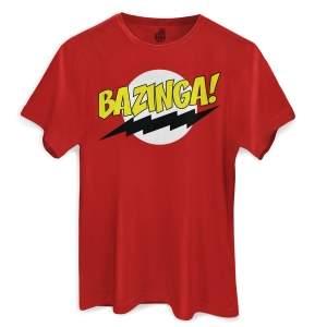 [bandUP Store] Camiseta Bazinga a R$49,90