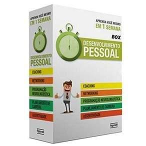 [Casas Bahia] Livro - Box - Desenvolvimento Pessoal: Coaching, Networking, Programação Neurolinguística, Planejamento de Carreira e Assertividade por R$ 20