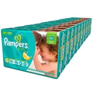 [Kangoolu] Combo Fraldas Pampers Total Confort  P (500un) - M (440un) - G (380un) - XG (340un) - XXG (300un)   R$296