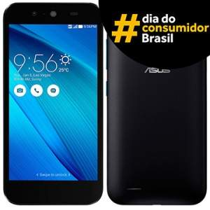 """[Voltou- Efácil]  Smartphone Zenfone Live Dual Chip, Branco, Tela 5"""", 3G+WiFi, 8MP, 16GB, TV Digital + Película de Vidro - Asus por R$ 697"""