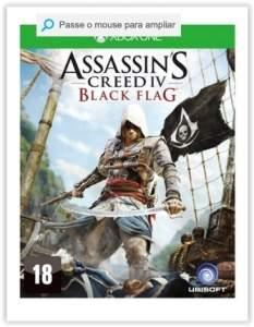 [Submarino] Xbox One Assassins Creed Iv: Black Flag  por R$ 60