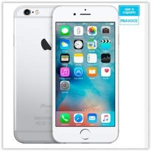 """[Submarino] iPhone 6s Plus 64GB Prata Tela 5.5"""" iOS 9 4G 12MP - Apple por R$ 3642"""