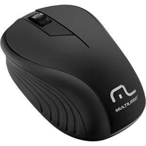[shoptime]Mouse Sem Fio Preto USB - Multilaser R$24,49